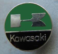 KAWASAKI-emblema/Logo-PIN-ROTONDO-SMALTATO - MOTORCYCLE-Kult