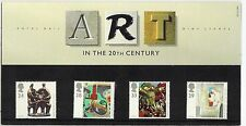 1993 GB QEII COMMEMORATIVE STAMP PRESENTATION PACK NO237 ART IN THE 20TH CENTURY