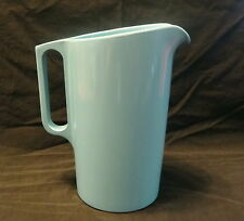 Vintage Watertown Lifetime Ware USA Melamine Melmac Turqouise Blue 1 QT Pitcher