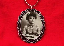 TATTOOED LADY CIRCUS SIDESHOW FREAK VINTAGE PIN UP GIRL PENDANT NECKLACE