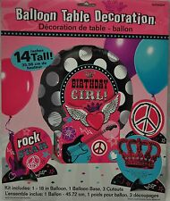 ROCK STAR GIRL PRINCESS PARTY CENTERPIECE