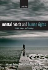 MENTAL HEALTH AND HUMAN RIGHTS NEW HARDCOVER BOOK
