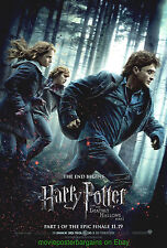 HARRY POTTER AND THE DEATHLY HALLOWS 7 MOVIE POSTER Orig. DS 27x40 Final Style