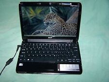 "Acer Aspire One 751h Za3 2 Gb 160 Gb 11,6 ""Ultraslim Skype Wifi Netbook Blanco"