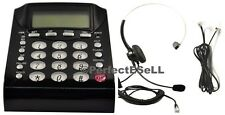 Headset + Telephone Phone with Tone Dial Key Pad for Work From Home Office New