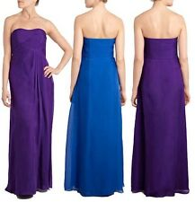 "BNWT "" Coast "" Size 12 Acapella Blue Maxi Dress Ball gown Weddings, Cruise New"