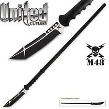 United Cutlery - M48 Sabotage Tactical Survival Spear w/ Sheath UC3115 New