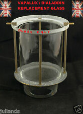 VAPALUX LAMP GLASS BIALADDIN LAMP GLASS KEROSENE LAMP PARAFFIN LAMP TILLEY LAMP