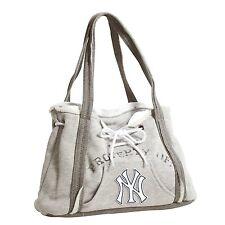 New York Yankees MLB Baseball Team Ladies Embroidered Hoodie Purse Handbag