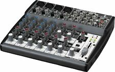 Behringer Xenyx Q1202 USB Live Studio Audio Interface 3-Band EQ 12-Input Mixer