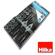 Hilka alloy tap and die set metric M3 M4 M5 M6 M7 M8 M10 M12 Thread cutting