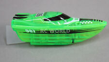 Remote Control RC Micro SPEED BOAT MINI RC Boat Aquarium Toy + Free Batt. GREEN