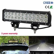 12inch 72W CREE LED WORK LIGHT BAR SPOT DRIVING OFFROAD 4WD SUV Truck LAMP Jeep