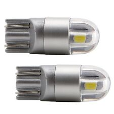 4X Osram T10 W5W 168 2 LED 6500K Car interior Reading Light 12V DC White Lamp