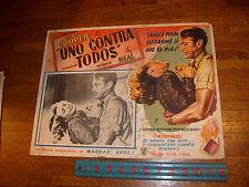 AYN RAND: VINTAGE FOUNTAINHEAD MOVIE SPANISH (MEXICO) LOBBY CARD, #6 listing