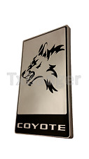 Trunk Badge Mustang F-150 Rear Deck Decklid Emblem - SILVER - New Style! L@@K!