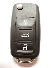 Replacement 3 button shell case for VW Volkswagen Scirroco remote flip key fob