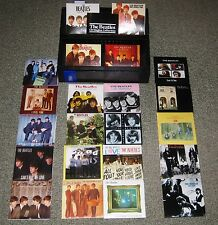 THE BEATLES Japan 22 x card sleeve CD single BOX SET obi JOHN LENNON limited edn