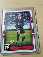 Panini DONRUSS 2016 Canvas production Line Ibrahimovic paris ed # 39/49 Chrome