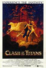 """CLASH OF THE TITANS Movie Poster [Licensed-NEW-USA] 27x40"""" Theater Size 1981"""