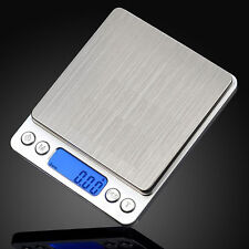 500g x 0.01g Digital Pocket Gram Scale Jewelry Weight Electronic Balance Scale X