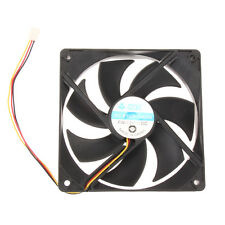 DC 12V 3Pin 12cm 120mm 120x25mm Brushless PC Computer Case Cooling Fan 2800rpm