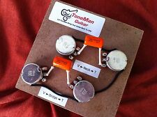 50s Wiring Harness  Fits Gibson Les Paul Long Shaft Pots .022uf Tone Caps