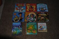 DISNEY ~ Lot of 9 ~ Various Hardback Paperback Books ~ Toy Story Little Einstein