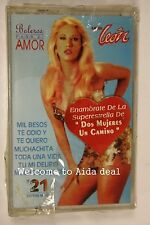 Boleros Para El Amor by Laura Leon Label: Warner(1994) (Audio Cassette Sealed)
