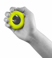 UK Warrior Hand Grip Gripper Round Easy Carry Forearm Exercise Gym Stress Ball