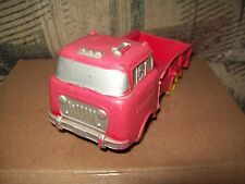 VINTAGE AUBURN TOYS RED WILLYS JEEP 4X4 FC-150 TRUCK, GOOD USED CONDITION