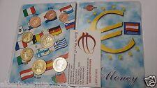 2002 AUSTRIA 8 monete EURO fdc autriche osterreich