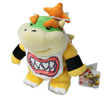 "Authentic  8"" AC11 Bowser Jr. Stuffed Plush Sanei Super Mario All Star Series"