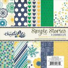NEW SIMPLE STORIES A CHARMED LIFE 6X6 PAPER PAD