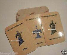 Merlin-s zauberhaftes Zeit Orakel 32 Karten *Neu* Übersinnliche Zeitkarten