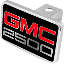 New GMC 2500 Red/Mirrored Logo Tow Hitch Cover Plug