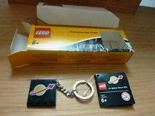 "LEGO EXCLUSIVE KEY CHAIN CLASSIC "" IN SPACE SINCE 1978"" RARE IN BOX NEVER USED"