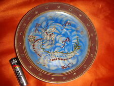 Small Porcelain Saucer/Dish, Peranakan Straits Chinese Collection, nice used