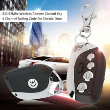433.92Mhz Wireless Remote Control Key 4 Channel Rolling Code For Gate Door UR
