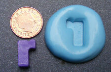 "Reusable Letter ""R"" Silicone Food Safe Mould, Mold, Sugarcraft, Jewellery, Cake"