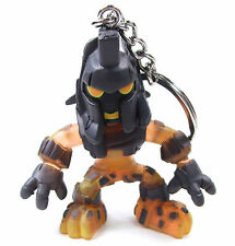 """DOCTOR WHO Time Squad Character Keychain PYROVILLE 3"""" Figure Bag Clip Hanger"""
