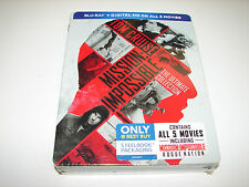 Mission: Impossible - The Ultimate Collection (Blu-ray Disc Steelbook) 5 movies