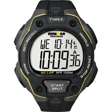 TIMEX IRONMAN 50 LAP TRD BLACK /YELLOW RSN WATCH