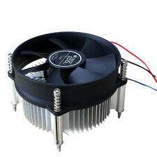 3PIN DC 12V CPU Cooling Cooler PC Ultra Silent Fan For Intel LGA775