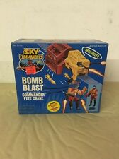1987 Sky Commanders BOMB BLAST with PETE CRANE No. 35780 Kenner NOS NIB Unopened
