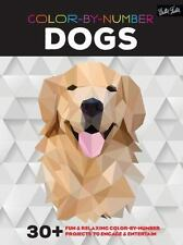 Color-by-Number: Dogs: 30+ fun & relaxing color-by-number projects to engage & e