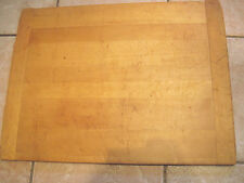 Antique noodle/ bread board. Bakers ends. as bread board end early =24x18x 3/4