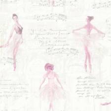 Pirouette Pink Ballerina Wallpaper by Arthouse Imagine 668200