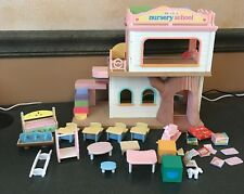 Calico Critters Baby Play Nursery School Playset & Accessories