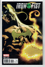 IRON FIST #1 - Mike Perkins 1 in 25 Variant Cover! NM